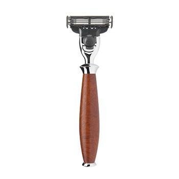 Mühle - Rasierer Purist, Bruyereholz, (Gillette® Mach3®)