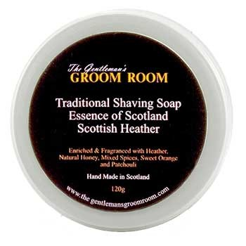 Essence of Scotland - Scottish Heather Traditional Shaving Soap, 120 g