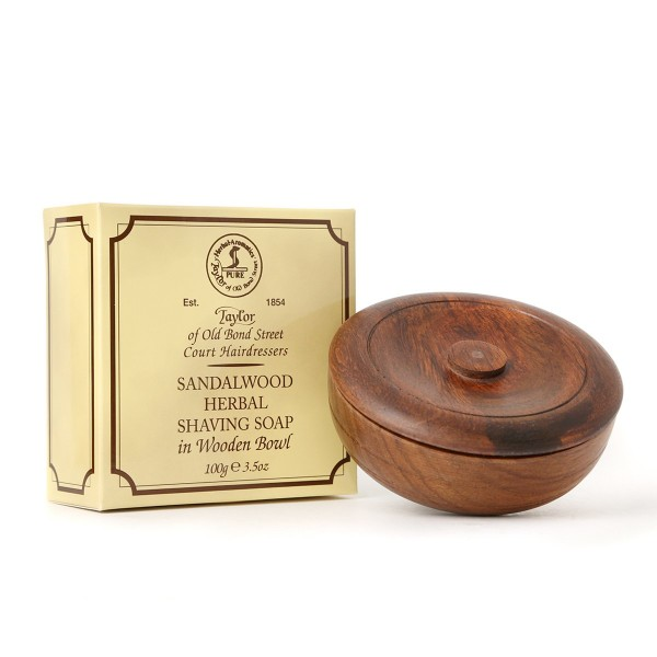 Taylor - Sandalwood Herbal Shaving Soap, 100 Gramm