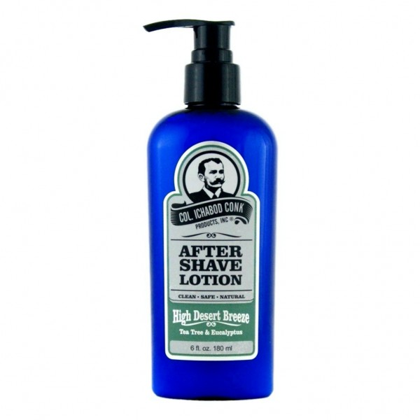 Colonel Conk's Natural After Shave Lotion - High Desert Breeze