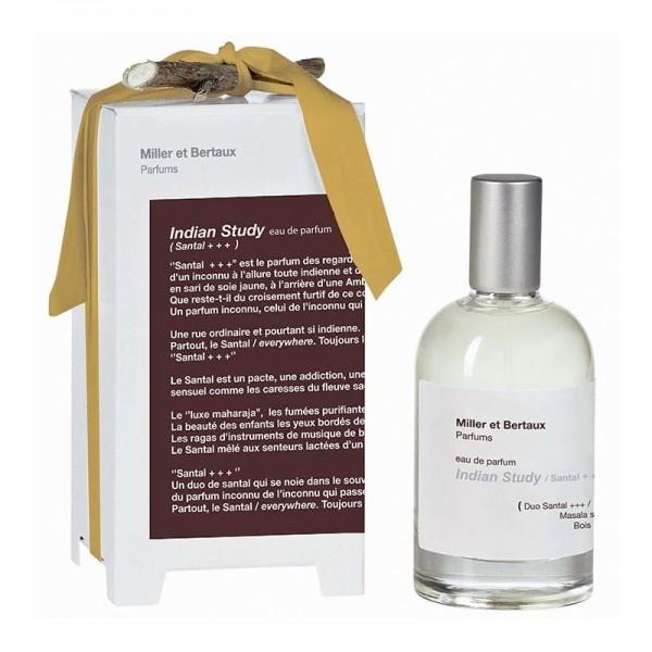 Miller et Bertaux - Indian study / Santal +++ Eau de Parfum, 100 ml