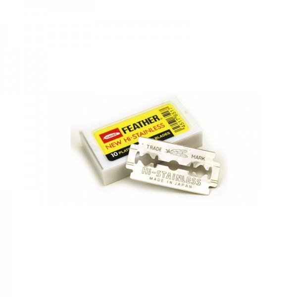 FEATHER - Rasierklingen Hi-Stainless Platinum, 400 Stück