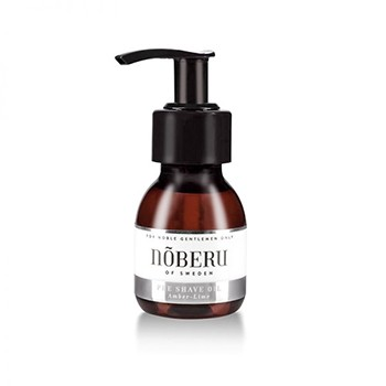 Nõberu of Sweden - Pre-Shave Öl Amber Lime, 60 ml