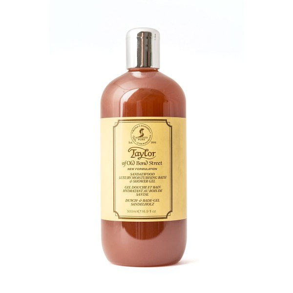 Taylor of Old Bond Street - Sandalwood Dusch- und Badegel, 500 ml