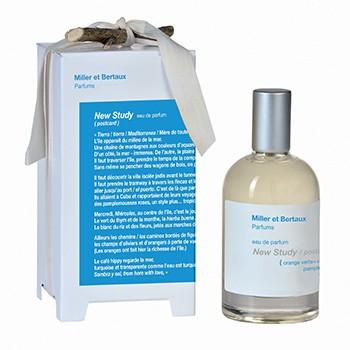 Miller et Bertaux - New Study / postcard Eau de Parfum, 100 ml