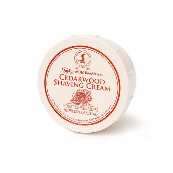 Taylor of Old Bond Street - Cedarwood Shaving Cream, 150 Gramm