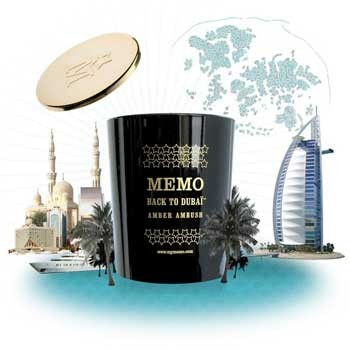 Memo - Back to Dubai, Duftkerze 180 g