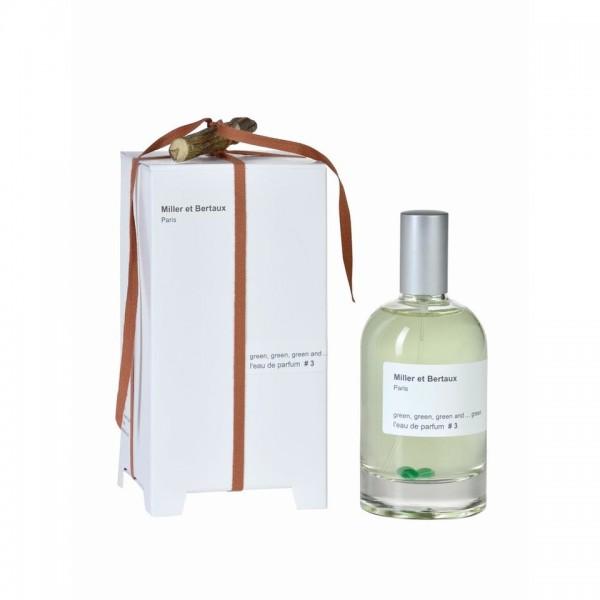 Miller et Bertaux - # 3 Green, green, green and ...green Eau de Parfum, 100 ml