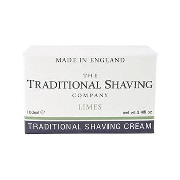 The Traditional Shaving - Lime Shaving Cream, 100 ml