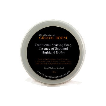 Essence of Scotland - Highland Bothy Traditional Shaving Soap, 120 g