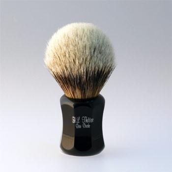 Thäter - Rasierpinsel Silberspitz # I (4125/0, 22mm), schwarz