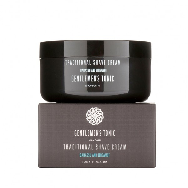 Gentlemen's Tonic - Traditional Shave Cream, 125 g