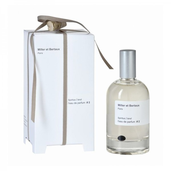 Miller et Bertaux - # 2 Spiritus / land l'eau de Parfum, 100 ml