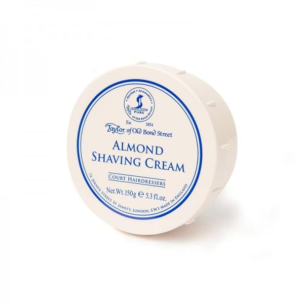 Taylor of Old Bond Street - Almond Shaving Cream, 150 Gramm