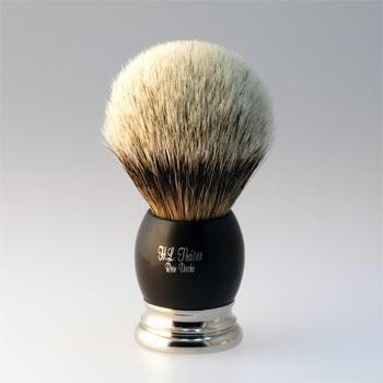 Thäter - Rasierpinsel Silberspitz (4292/4ni, 24mm) Ebenholz