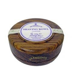 D. R. Harris - Lavender Rasierseife im Bowl aus Mahagoni, 100 Gramm