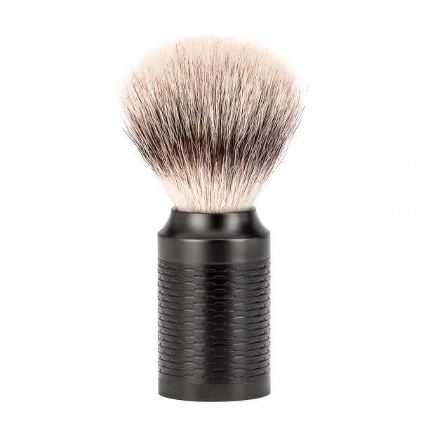 ROCCA - Rasierpinsel von MÜHLE, Silvertip Fibre®, DLC