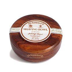 D. R. Harris - Almond Rasierseife im Bowl aus Mahagoni 100 Gramm