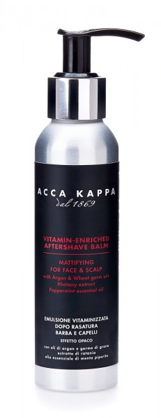 Acca Kappa - Barber Shop Collection - Aftershave Balm mit Minze, 125 ml