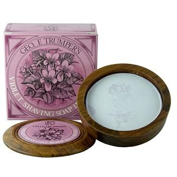 Geo F. Trumper - Violet Shaving Soap, 80 Gramm