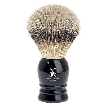 Mühle - Rasierpinsel Silberspitz, black 23 mm