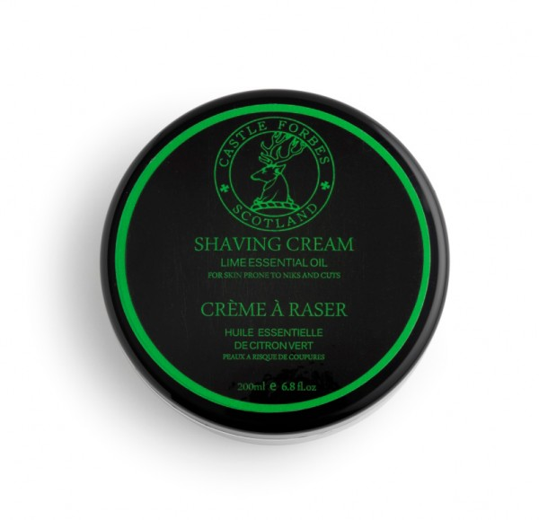 Castle Forbes Collection – Lime Shaving Cream