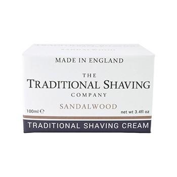 The Traditional Shaving - Sandalwood Shaving Cream, 100 ml