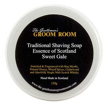 Essence of Scotland - Sweet Gale Traditional Shaving Soap, 120 g
